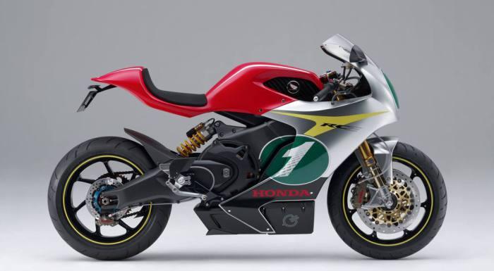 Honda RC-E, pasado y futuro echan chispas