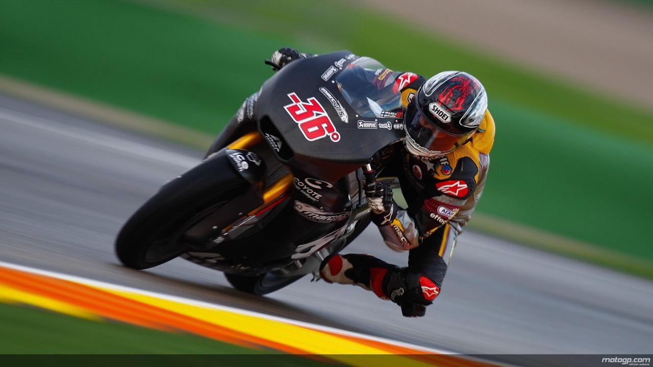 Pol Espargaró el mejor del día 1 del test Moto2 en Valencia