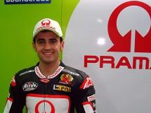 Héctor Barberá preparado para el test MotoGP en Sepang