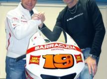 Barracuda con Gresini Racing en Moto2 y MotoGP 2012