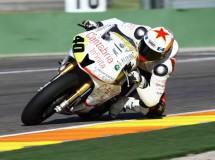Román Ramos piloto del Team Motorrad con Ariane Moto2 CEV