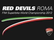 Red Devils Roma Team con Canepa para SBK 2012