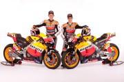 Repsol MotoGP Stoner-Pedrosa presentacion