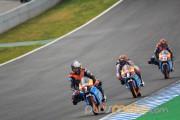 Lorenzo Baldassari, María Herrera y Alex Márquez Jerez CEV Moto3 2012