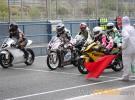 Moto3 saliendo box CEV jerez 2012