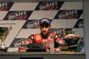 Xavi Fores rueda de prensa Jerez Stock Extreme CEv 2012
