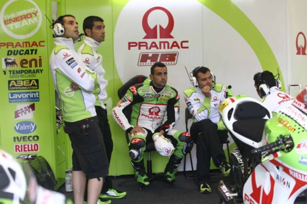 jerez 2012 ducati pramac racing team gp zero free practice