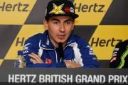 rueda prensa Lorenzo Silverstone
