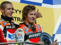 Pedrosa y Stoner marcan los 300 podios del Repsol Honda en Laguna Seca
