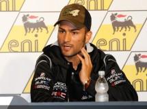 Pasini impacta contra un técnico en el pit lane MotoGP de Sachsenring