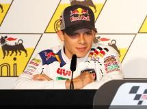 Lorenzo, Stoner, Pasini, Dovi y Bradl en rueda de prensa de Sachsenring