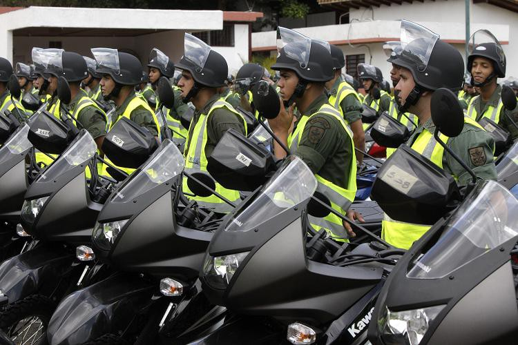 Venezuela amplía su flota de motos para su Guardia Nacional Bolivariana