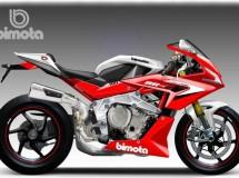 Dos modelos Bimota/BMW concept por Bezzi