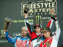 Tom Pagés y su special flip ganan el Freestyle MX Masters Barcelona 2012