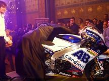 Presentación del Cardion AB Motoracing MotoGP con Abraham