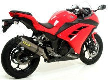 Escapes Arrow Thunder para tu Kawasaki Ninja 300