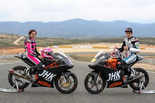 Hoy test KTM Moto3 en el Circuito de Almeria