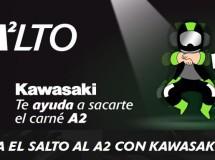 Kawasaki te ayudará con el carnet A2