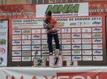 Iván Cervantes gana la segunda jornada del Nacional de Enduro en Santiago