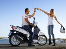 El mercado de la moto sigue a la baja, con las scooter protagonistas