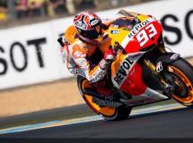 Marc Márquez sigue brillando y marca la pole de MotoGP en Le Mans