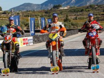Cucharrera, Giménez y Ford Dunn consiguen los títulos CeSMotard 2013