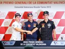 Rossi, Pedrosa, Márquez, Hayden, Lorenzo y Smith protagonistas en Valencia