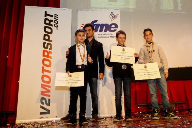 Campeones Minivelocidad SM65cc con Dani Pedrosa. Fotografía Iván Terrón