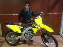 Robert Girón con el Suzuki Grau Racing en el Nacional SM Promesas