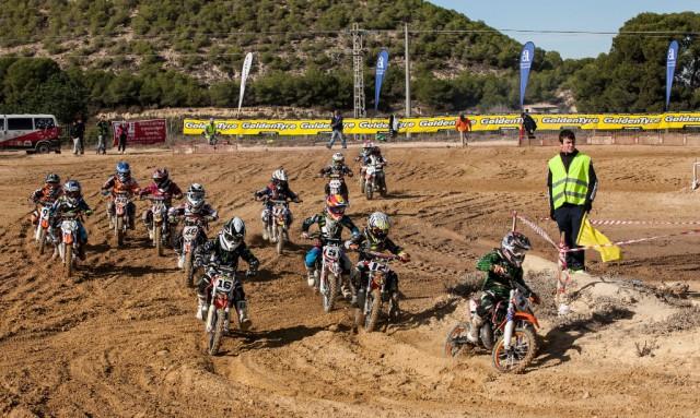 Motocross MX50.Fotografía Domingo Merino