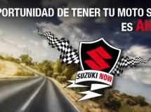 La marca Suzuki presenta su nueva promoción Now