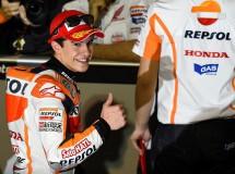 Marc Márquez le gana el mano a mano a Rossi en MotoGP Qatar, Pedrosa 3º