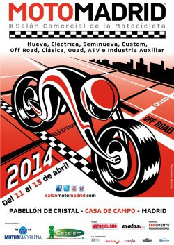 Cartel oficial MotoMadrid 2014