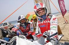 Helder Rodrigues gana la etapa 6 del Dakar 2015, Barreda más líder