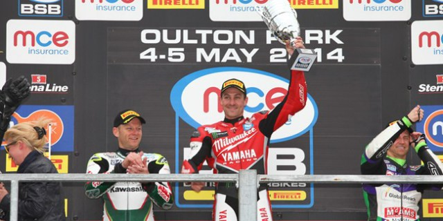 Brookes scored his first race win of the season