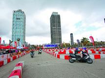 Hoy disfruta de la fiesta de la moto urbana en Barcelona