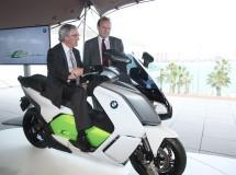 Presentación de la nueva scooter eléctrica BMW C Evolution