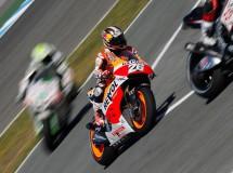 Vázquez, Pedrosa y Cortese controlan la FP3 MotoGP en Jerez