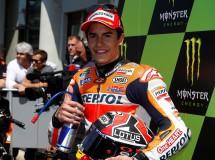 Marc Márquez imparable logra la 5ª victoria MotoGP en Le Mans, Rossi 2º y Bautista 3º