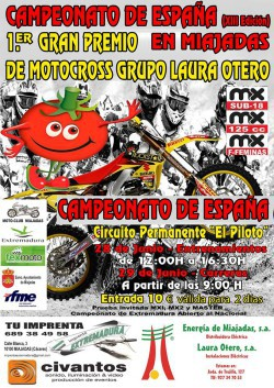 Cartel MX Miajadas 2014