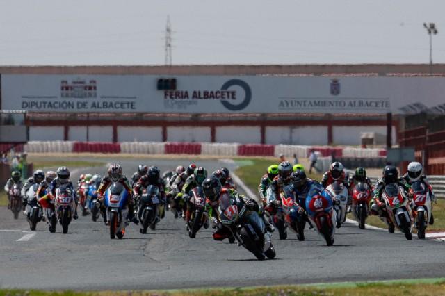 Salida Pre Moto3 Albacete 2013. Fotografía Iván Terrón