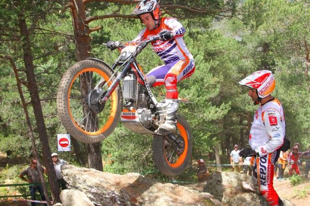 Toni Bou en acción Trial Andorra.Fotografía Joan Carles Vázquez