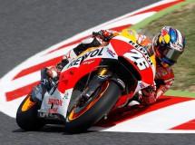 Pedrosa marca la pole MotoGP en Catalunya, con Lorenzo 2º y Márquez 3º