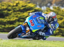 De Puniet y Laverty de test Suzuki MotoGP en Phillip Island