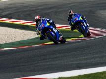 De Puniet y Tsuda terminan el test Suzuki MotoGP en Catalunya con éxito