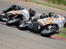 Máxima acción de los pilotos de la Cuna de Campeones en Alcañiz