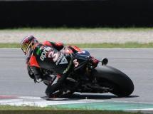 Max Biaggi de test Aprilia MotoGP en Mugello