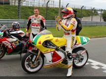 Stefan Bradl prueba la 250cc de su padre en Sachsenring