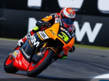 Simone Corsi se perderá la gira asiática de Moto2 por lesión