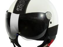 MAX presenta su casco Posh con cristales Swarovski